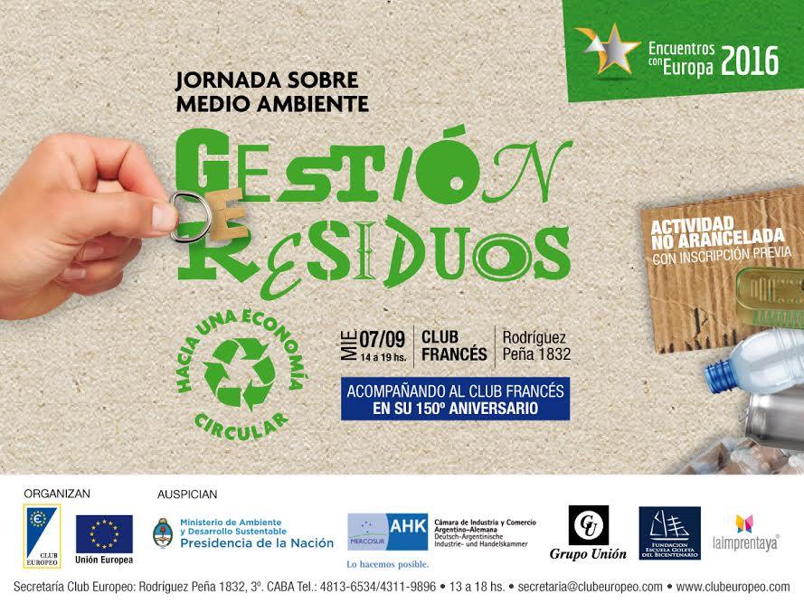 """La ASOCIACIÓN AMBIENTE EUROPEO participa en el evento """"DIÁLOGOS CON EUROPA"""" en Buenos Aires – Argentina."""