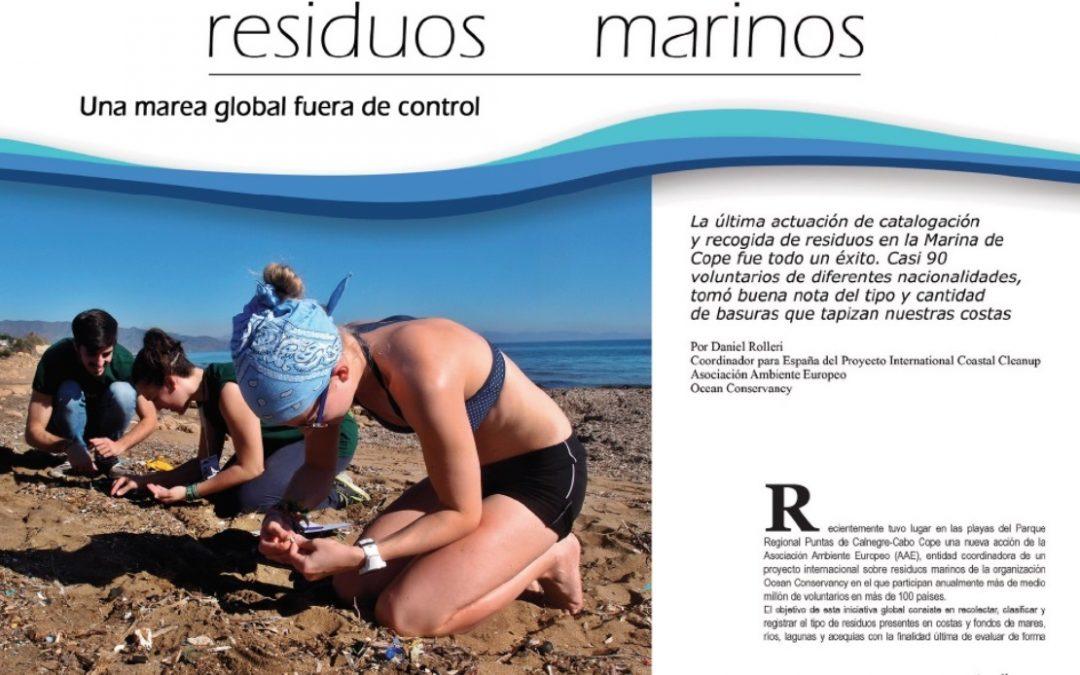 RESIDUOS MARINOS – Revista AquíÁguilas