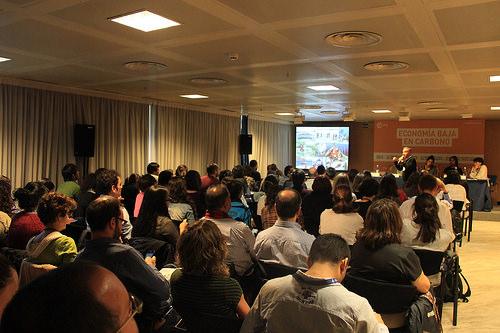 La ASOCIACIÓN AMBIENTE EUROPEO presenta su proyecto en el CONAMA 2014