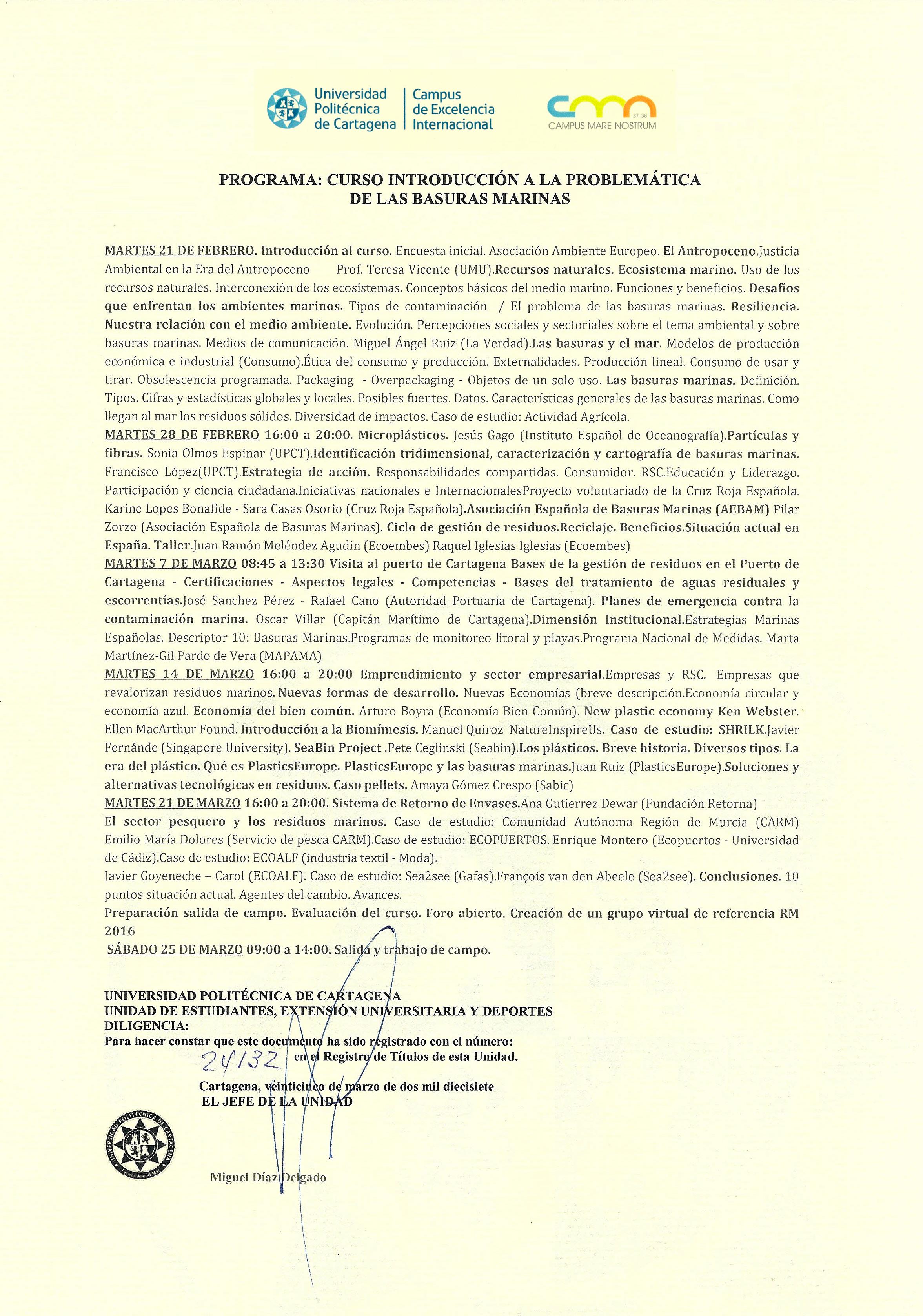 0169e2964bb5 TÍTULO  DOCUMENTO TÉCNICO GRUPO DE TRABAJO GT-16  BASURAS MARINAS  Coordinador  Asociación de Ciencias Ambientales