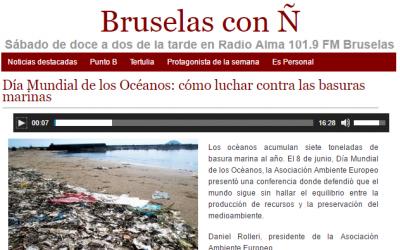 AMBIENTE EUROPEO en RADIO ALMA – BRUSELAS