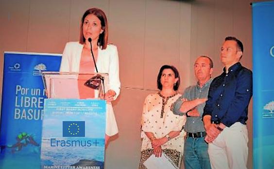 Comienza el proyecto ERASMUS+ sobre basuras marinas coordinado por AMBIENTE EUROPEO