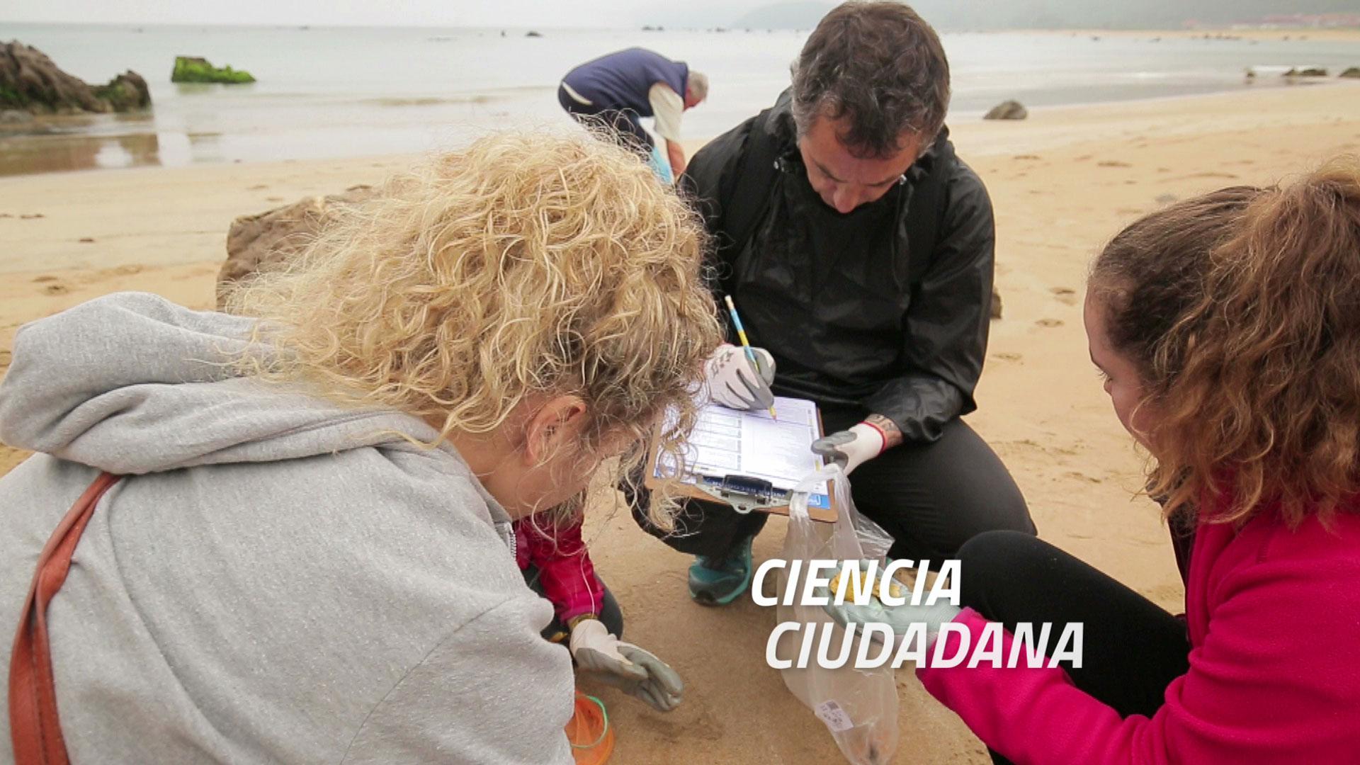 Ciencia ciudadana, basuras marinas