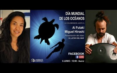 DÍA MUNDIAL DE LOS OCÉANOS CON AI FUTAKI Y MIGUEL IROSHI
